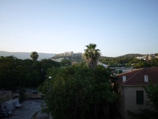 L'acropole depuis l'hotel