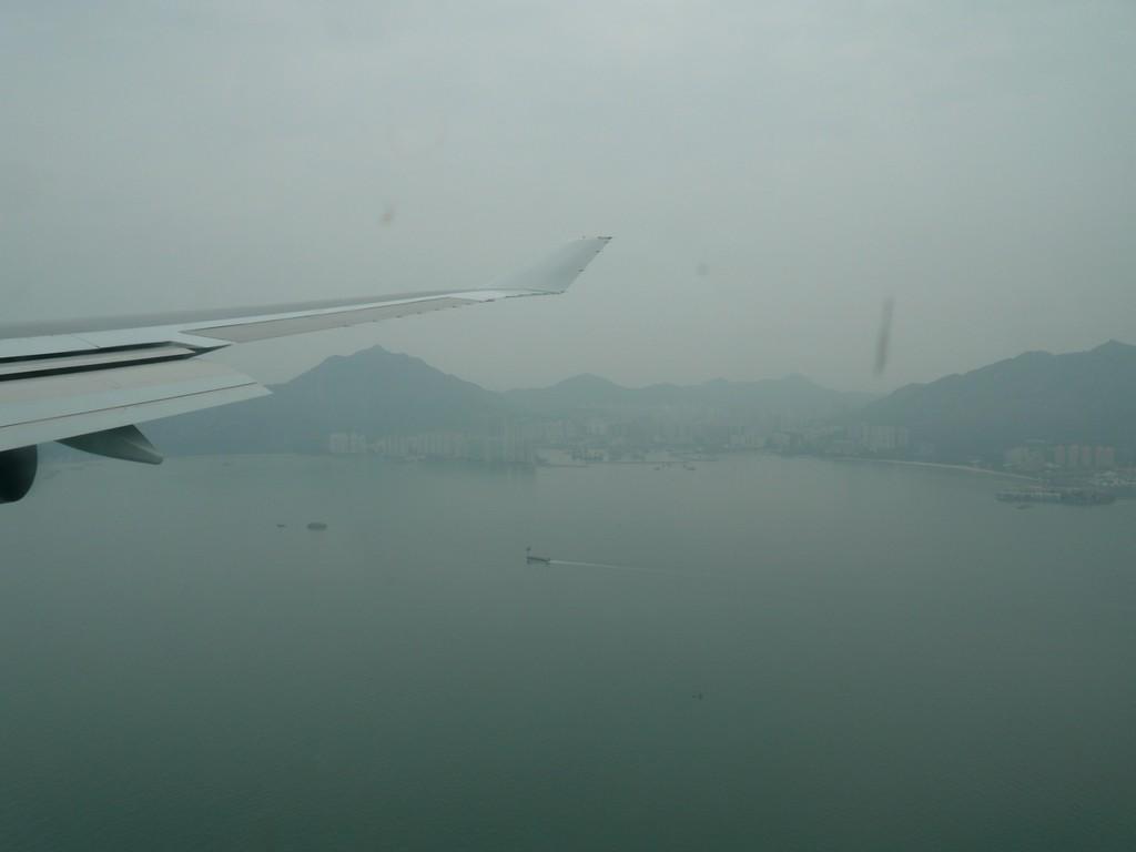 Arrivée sur HONG KONG