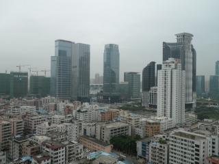 Shenzhen vue d'un building