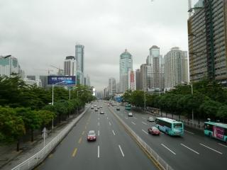 autoroute dans la ville