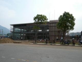 Agence de vente d'un complexe immobilier en construction