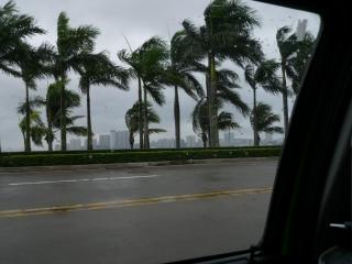 le typhon est  là